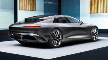 Audi Grandsphere concept - rear studio