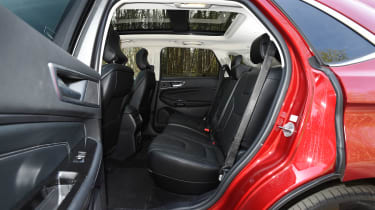Ford Edge second report - rear seats
