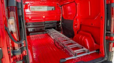 Nissan NV300 van load bay