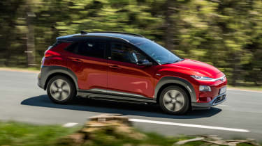 Hyundai Kona Electric - above