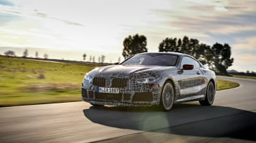 New BMW 8 Series tracking