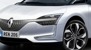 Renault EV - front detail (watermarked)