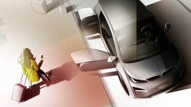 BMW i3 Urban Suite Concept - ride hailing