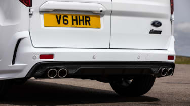 MS-RT Transit Connect - rear diffuser