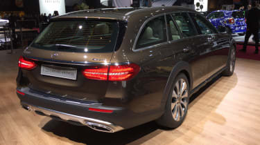 Mercedes E-Class All Terrain - Paris rear quarter