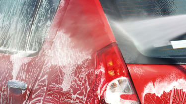 Jet washing your car isn't ideal, but it's better than nothing