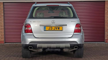 Used Mercedes M-Class - full rear