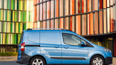 Ford Transit Courier side