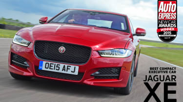 Jaguar XE - awards