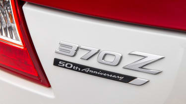 Nissan 370Z 50th Anniversary Edition - rear badge