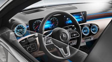 Mercedes A-Class Saloon - interior
