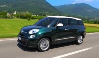 Fiat 500L MPW front three quarters