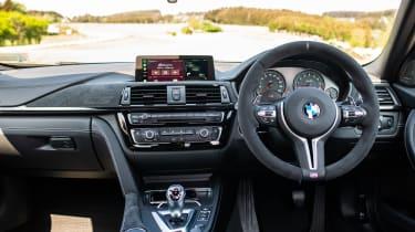 BMW M3 CS - steering wheel