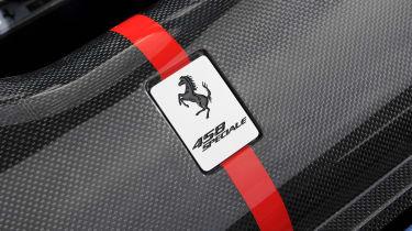 Ferrari 458 Speciale badge