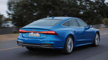 Audi A7 Sportback - rear action