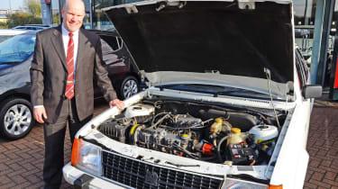Vauxhall Astra - Simon Railton engine bay