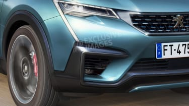 Peugeot 4008 - front detail (watermarked)