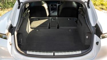 Porsche Taycan 4S Cross Turismo - boot seats down