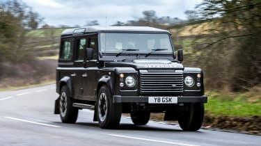 Land Rover Defender Works V8 - front action