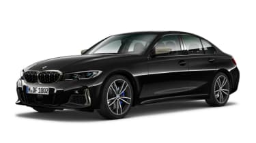 Leaked BMW 3 Series - front black 2