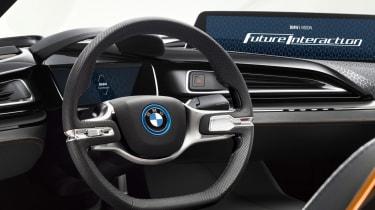 BMW i8 iVision concept interior