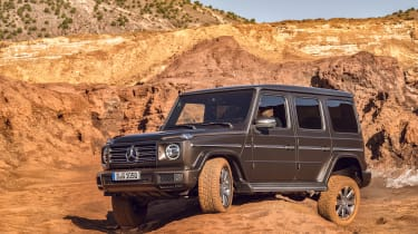 Mercedes G-Class - front action