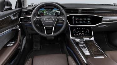 New Audi A6 - studio dash