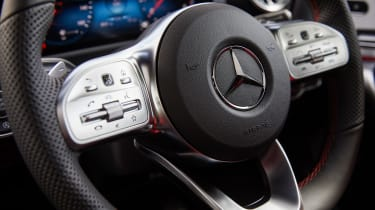 Mercedes CLA 250 AMG Line - steering wheel
