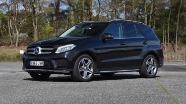 Used Mercedes GLE - front