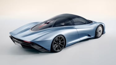 McLaren Speedtail - rear static