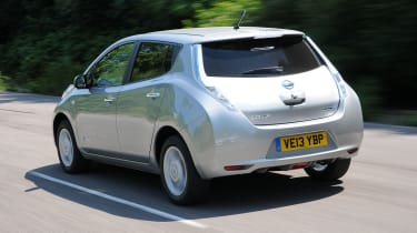 "<p class=""p1"">Thanks to a 108bhp battery-powered motor, the Nissan Leaf will reach 60mph in 11.5 seconds and has a maximum speed of 89mph.</p>"
