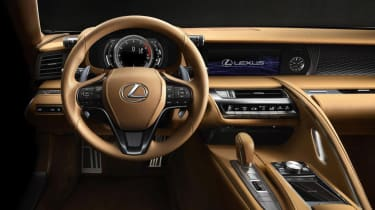 Lexus LC500 - dashboard