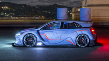 Hyundai RN30 Concept - night side