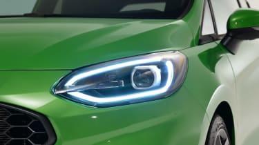 Ford Fiesta ST - headlight