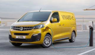 Vauxhall Vivaro-e - charging