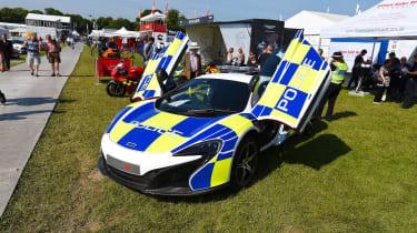 McLaren 650S police car