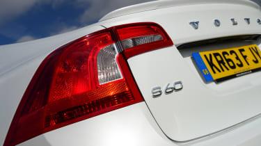 Volvo S60 rear lights