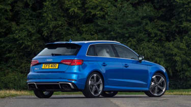 Used Audi RS 3 - rear