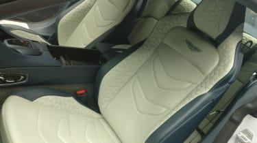 Aston Martin DBS Superleggera - reveal seats