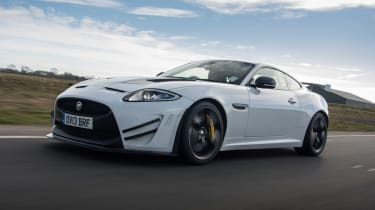 Jaguar XKR-S GT coupe tracking