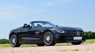Mercedes-AMG GT Roadster - front static