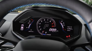 Lamborghini Huracan Evo - dials
