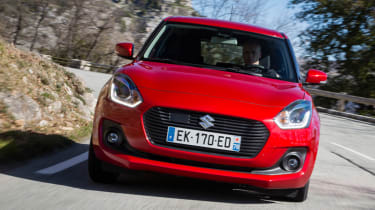 New Suzuki Swift 2017 - front cornering