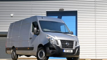 The NV400 is based on the Renault Master and the Vauxhall Movano.