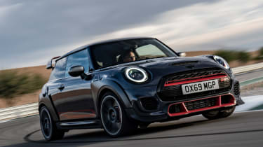 MINI John Cooper Works GP - front tracking