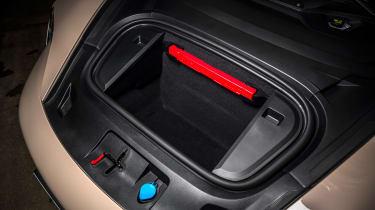 Porsche Taycan RWD - front boot