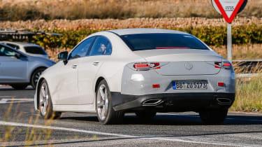 Mercedes CLS Catalonia rear