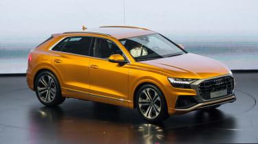 New Audi Q8 reveal - side