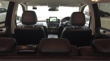Mercedes GLE 350d AMG Line - interior