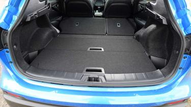 Nissan Qashqai - folded seats